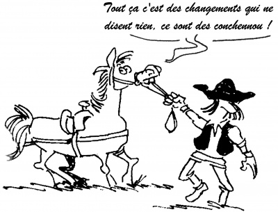 (Dessin de Laurent Quevilly, 1998)