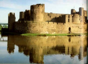 chateau de Caerphilly